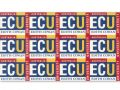 ECU stickers 75x55mm - $1.25 per sheet
