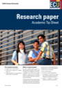 Research management tip sheet