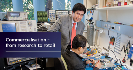Commercialisation - from research to retail