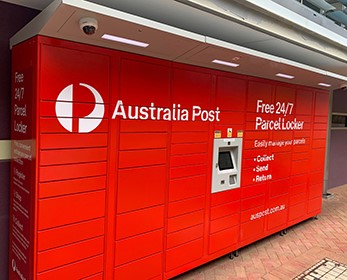 Australia Post Parcel Lockers