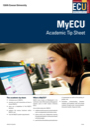 Blackboard (MyECU) tip sheet