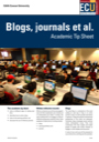 Blogs journals et al tip sheet