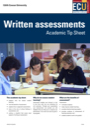 Written assessments tip sheet