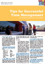 Time Management tip sheet