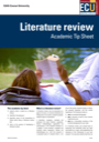 Literature review tip sheet