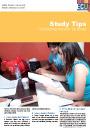 Study Tips sheet